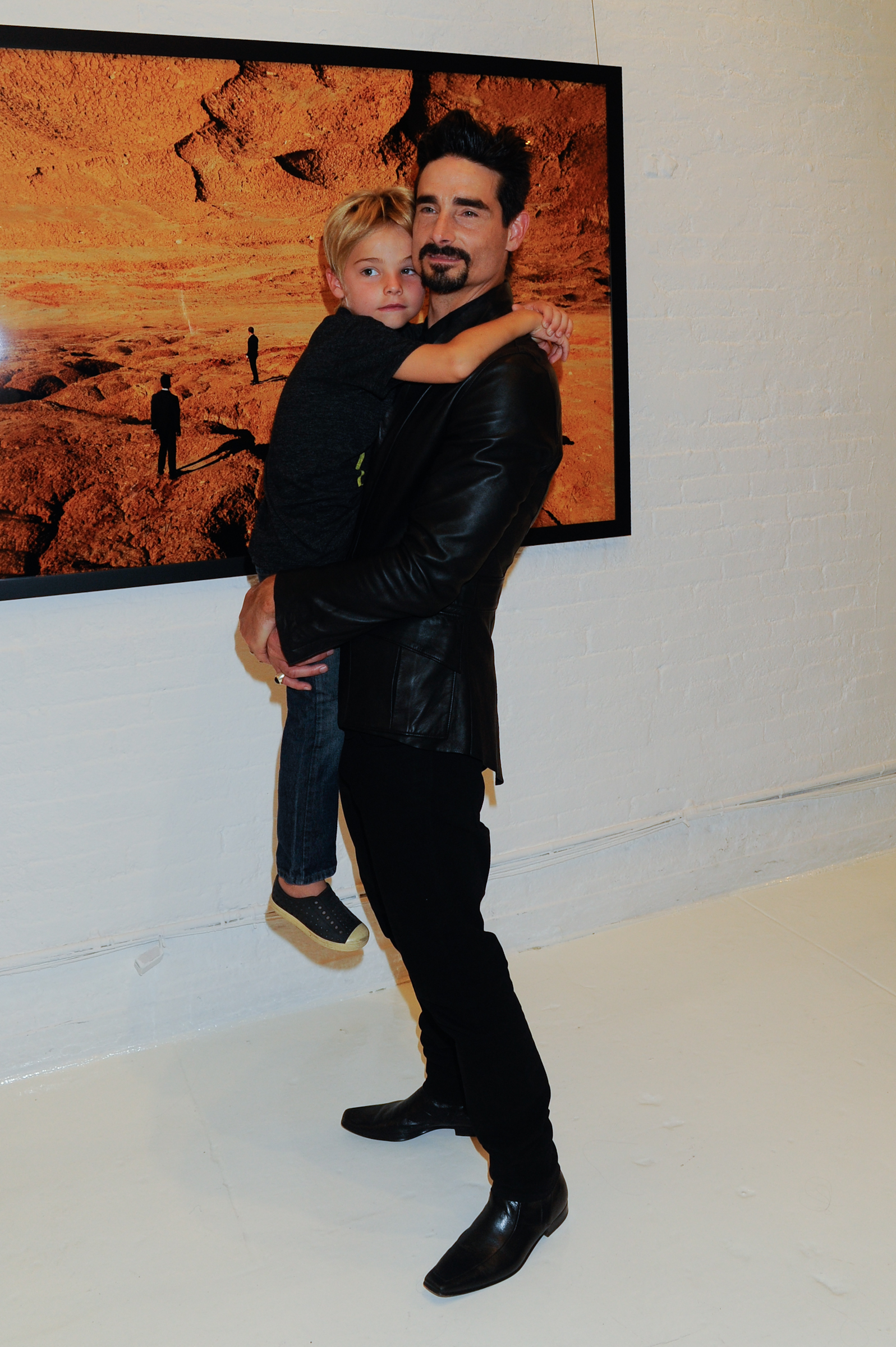 Kevin Richardson Attends Shields Exhibition Your Daily